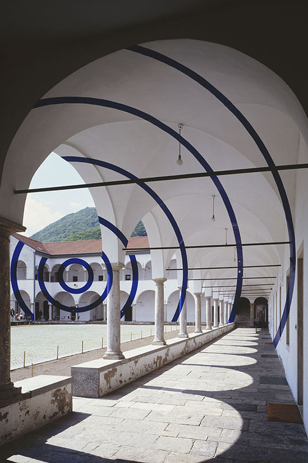 Architectural Felice Varini anamorphic paintings 5
