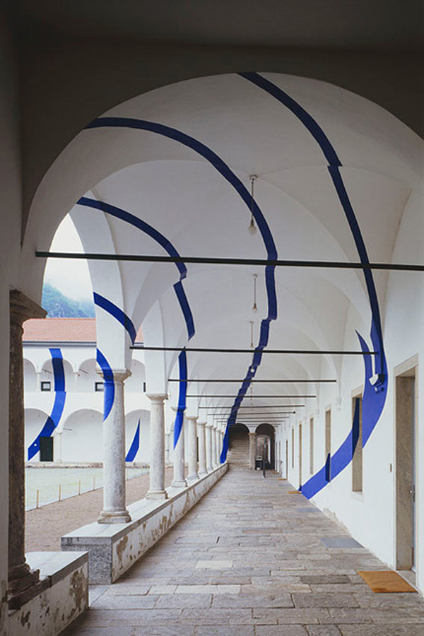 Architectural Felice Varini anamorphic paintings 6
