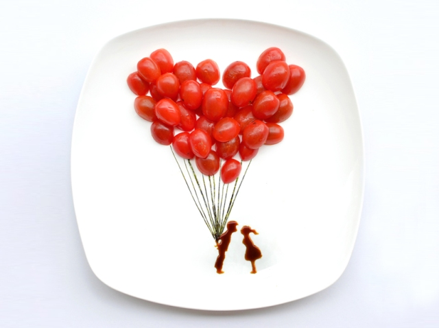 art on the plate hong yi RED
