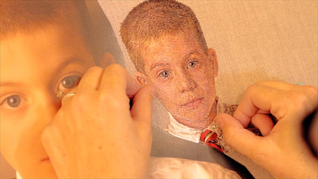 Embroidered portraits Cayce Zavaglia 8