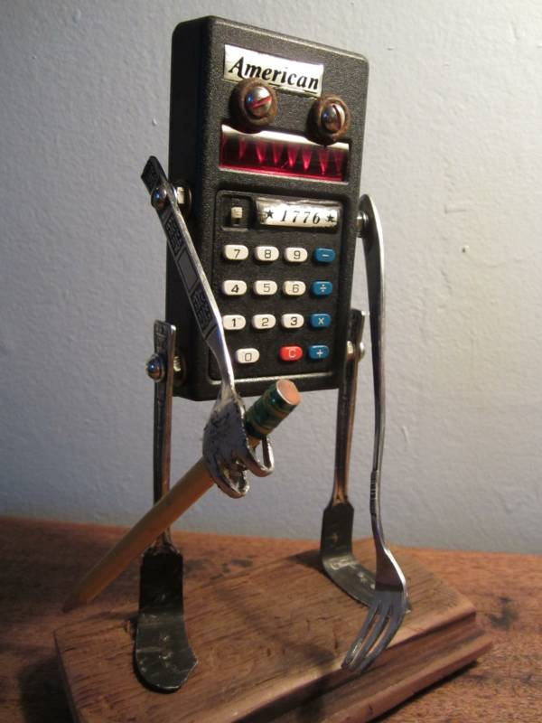 funny characters made with metal object Thomas Shelton 10