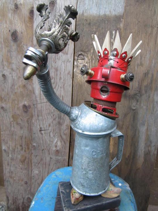 funny characters made with metal object Thomas Shelton 11