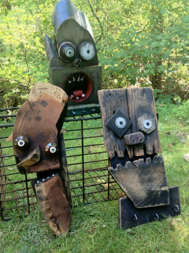 funny characters made with metal object Thomas Shelton 12