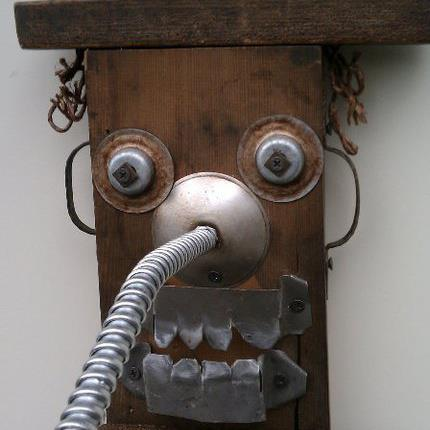 funny characters made with metal object Thomas Shelton 14