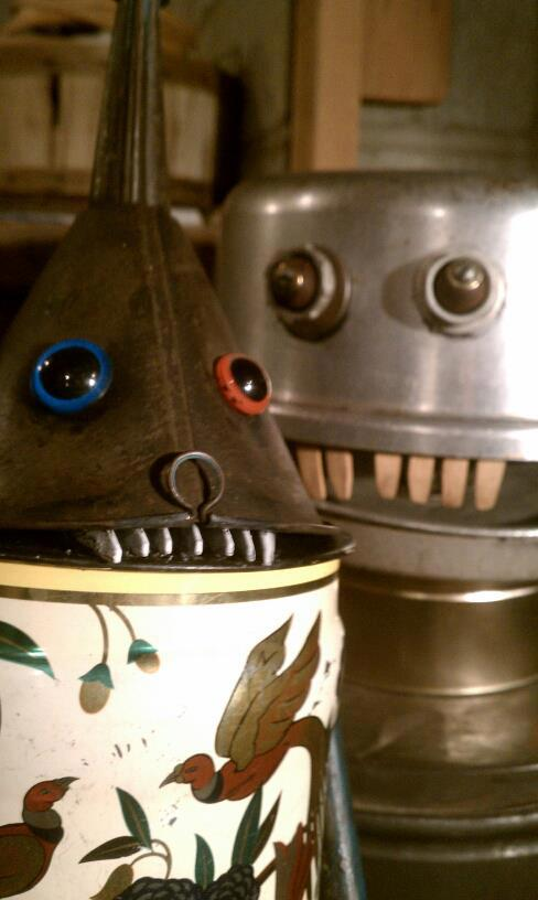 funny characters made with metal object Thomas Shelton 2