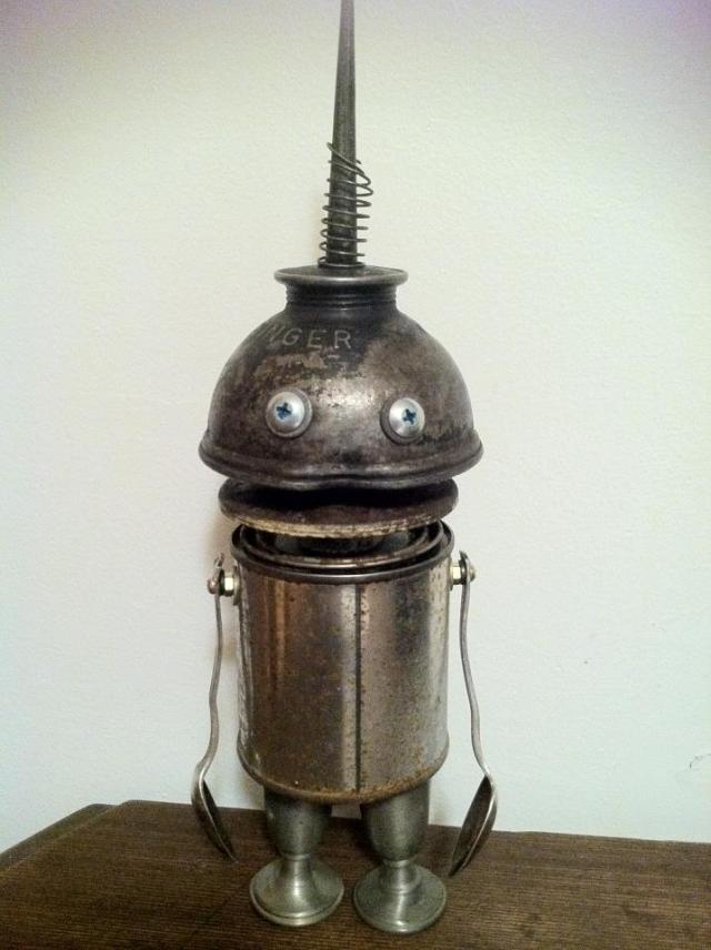 funny characters made with metal object Thomas Shelton 23
