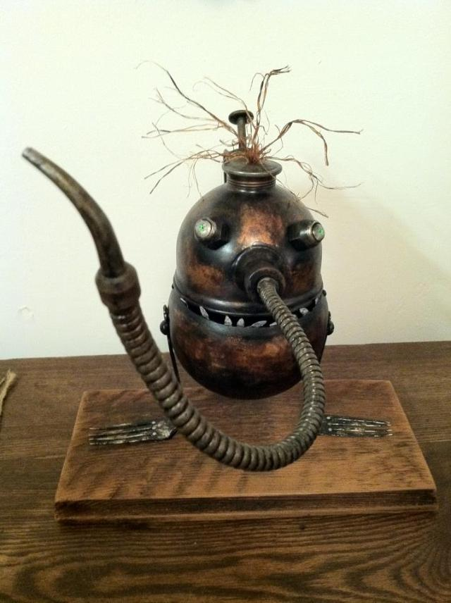 funny characters made with metal object Thomas Shelton 25