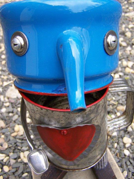 funny characters made with metal object Thomas Shelton 28