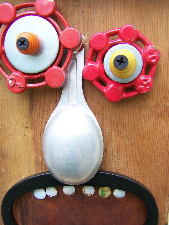 funny characters made with metal object Thomas Shelton 32