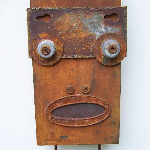 funny characters made with metal object Thomas Shelton 5