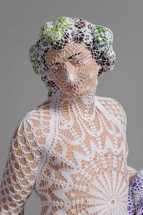 Handmade Crochet : HANDMADE CROCHET ARTWORKS JOANA VASCONCELOS 17 A Skeptical Designer