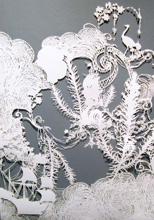 Intricate PaperCut ArtWorks Emma Van Leest 10