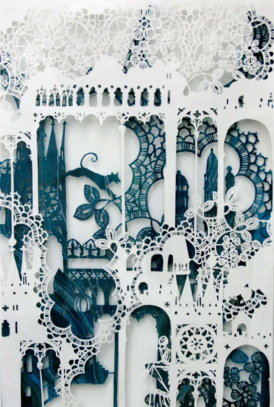 Intricate PaperCut ArtWorks Emma Van Leest 11