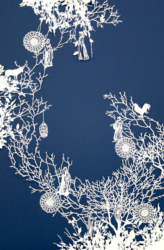 Intricate PaperCut ArtWorks Emma Van Leest 12