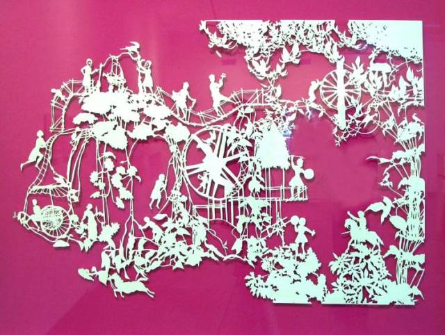 Intricate PaperCut ArtWorks Emma Van Leest 2