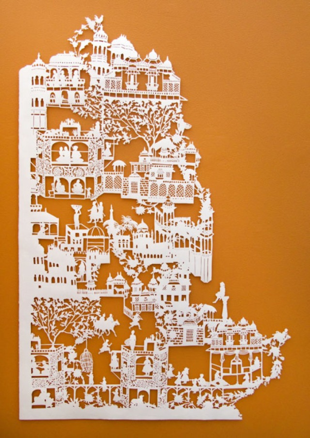 Intricate PaperCut ArtWorks Emma Van Leest 3