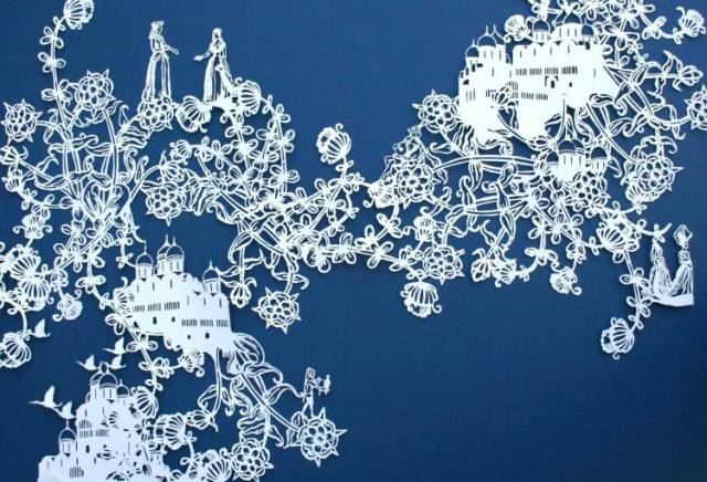 Intricate PaperCut ArtWorks Emma Van Leest 4