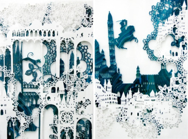 Intricate PaperCut ArtWorks Emma Van Leest 6