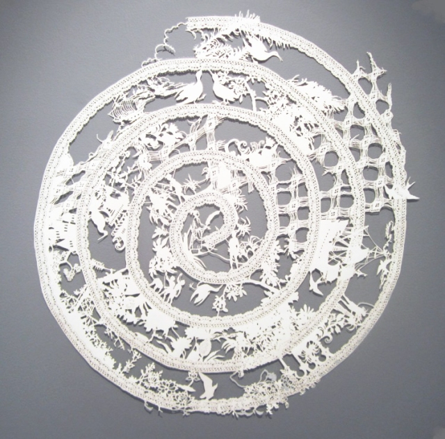 Intricate PaperCut ArtWorks Emma Van Leest 7