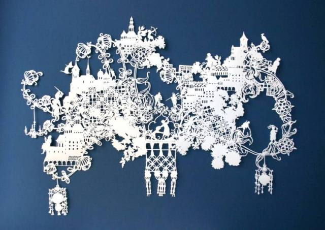 Intricate PaperCut ArtWorks Emma Van Leest
