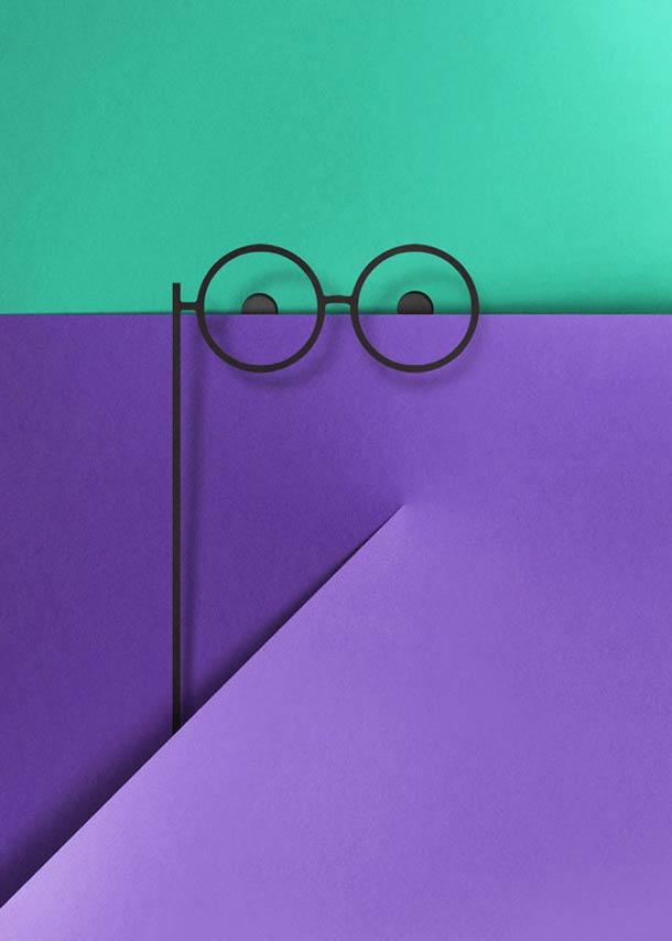new paper cut illustration eiko ojala 10