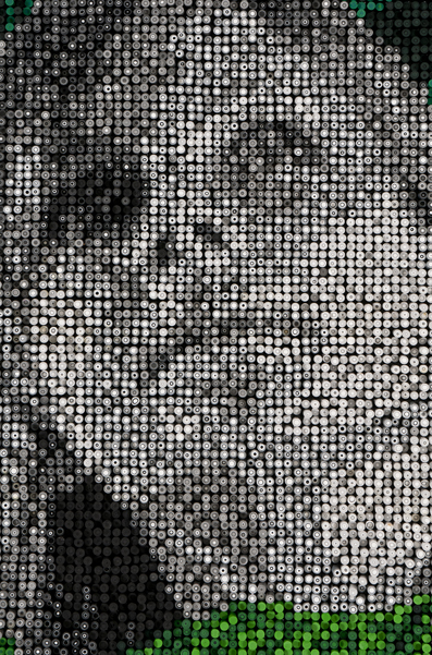 Polymer clay portraits Alev Gozonar 24