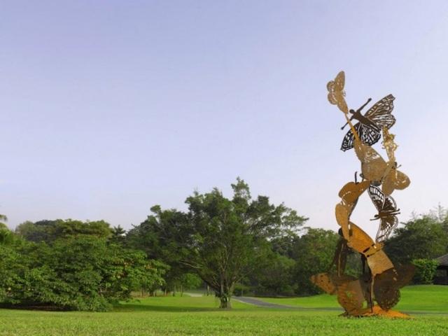 Steel Flowers and Trees Sculptures Zadok Ben David 5