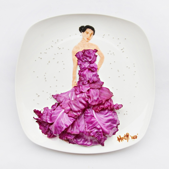 Art on the Plate Hong Yi RED 11