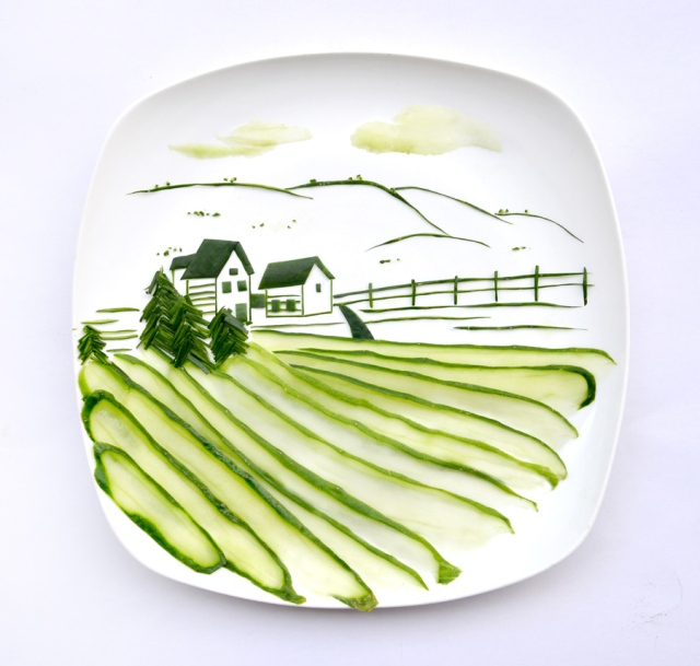 Art on the Plate Hong Yi RED 4