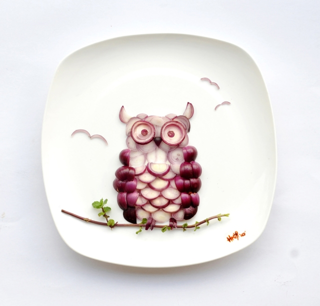Art on the Plate Hong Yi RED 5