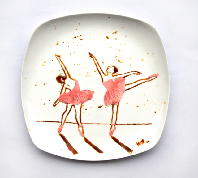 Art on the Plate Hong Yi RED 6