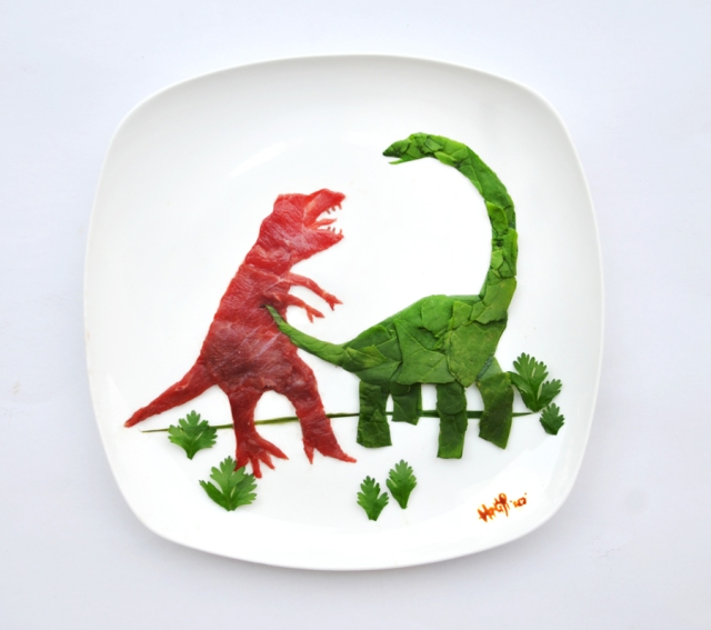 Art on the Plate Hong Yi RED 7