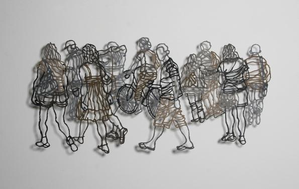 Handmade Paper Pulp Drawings Mriam Londono 10