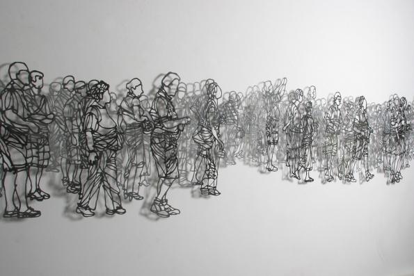 Handmade Paper Pulp Drawings Mriam Londono 11