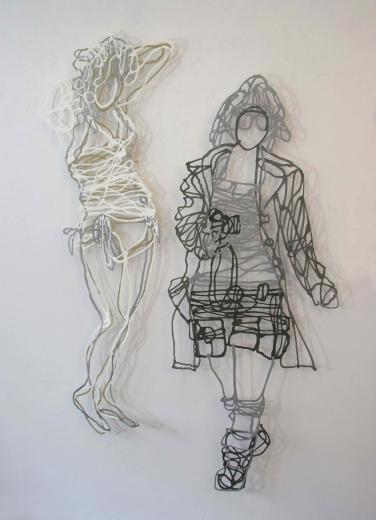 Handmade Paper Pulp Drawings Mriam Londono 17