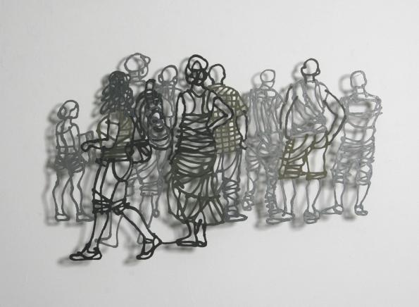 Handmade Paper Pulp Drawings Mriam Londono 2
