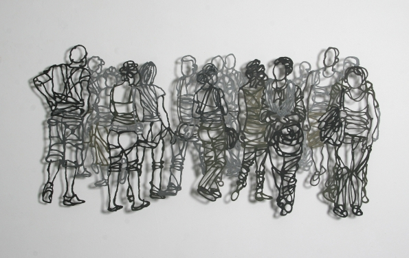 Handmade Paper Pulp Drawings Mriam Londono 3