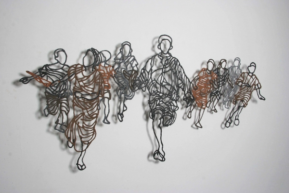 Handmade Paper Pulp Drawings Mriam Londono 6