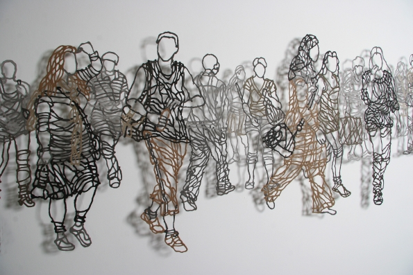 Handmade Paper Pulp Drawings Mriam Londono 7