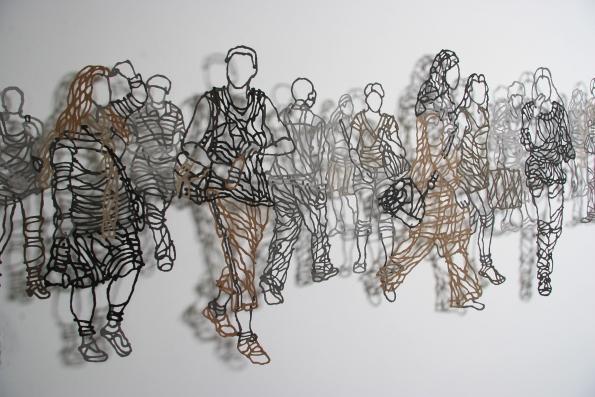 Handmade Paper Pulp Drawings Mriam Londono 8