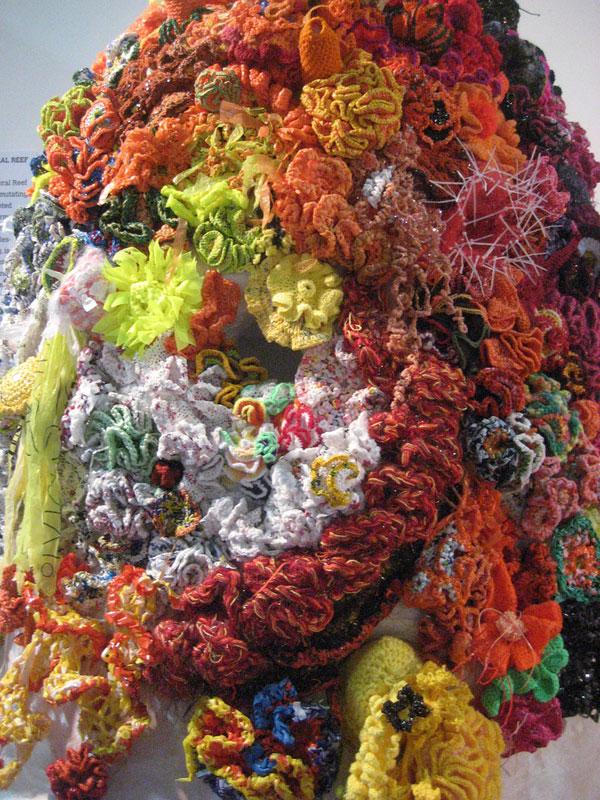 Hyperbolic Crochet Coral Reef VA 15