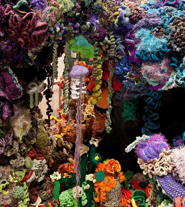 Hyperbolic Crochet Coral Reef VA 19