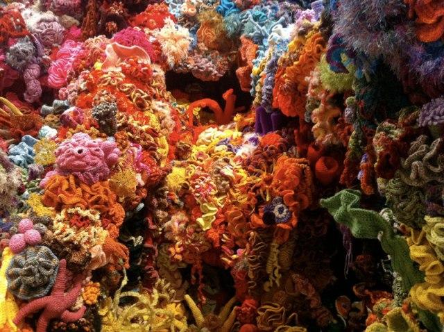 Hyperbolic Crochet Coral Reef VA 2