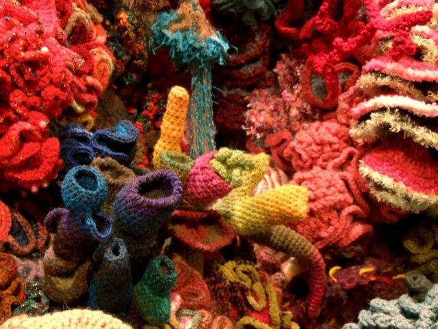 Hyperbolic Crochet Coral Reef VA 21