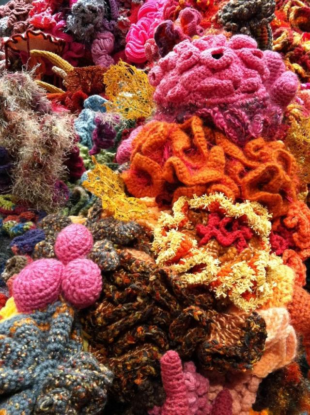 Hyperbolic Crochet Coral Reef VA 22