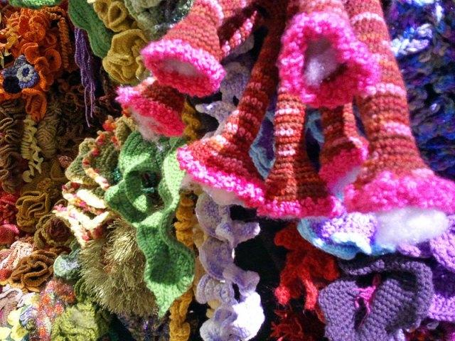 Hyperbolic Crochet Coral Reef VA 23