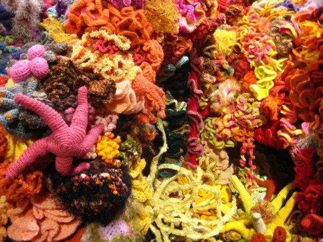 Hyperbolic Crochet Coral Reef VA 25