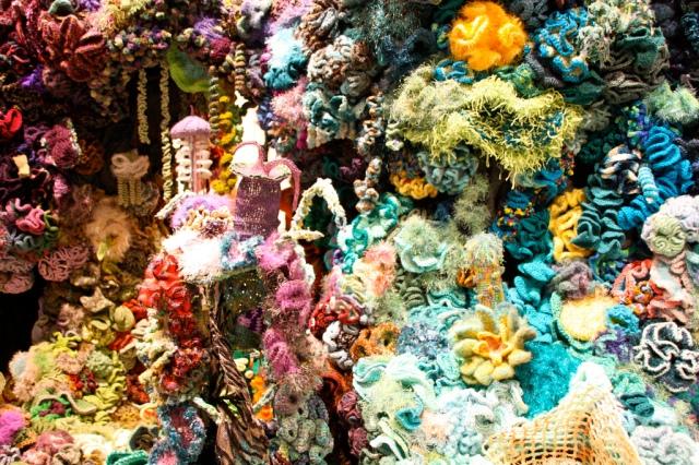 Hyperbolic Crochet Coral Reef VA 3