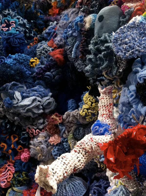 Hyperbolic Crochet Coral Reef VA 4
