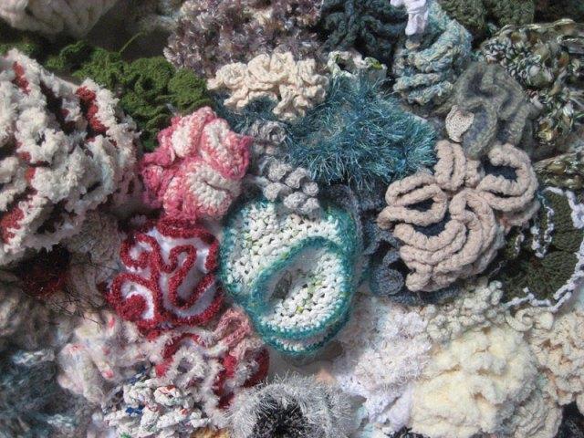 Hyperbolic Crochet Coral Reef VA 6